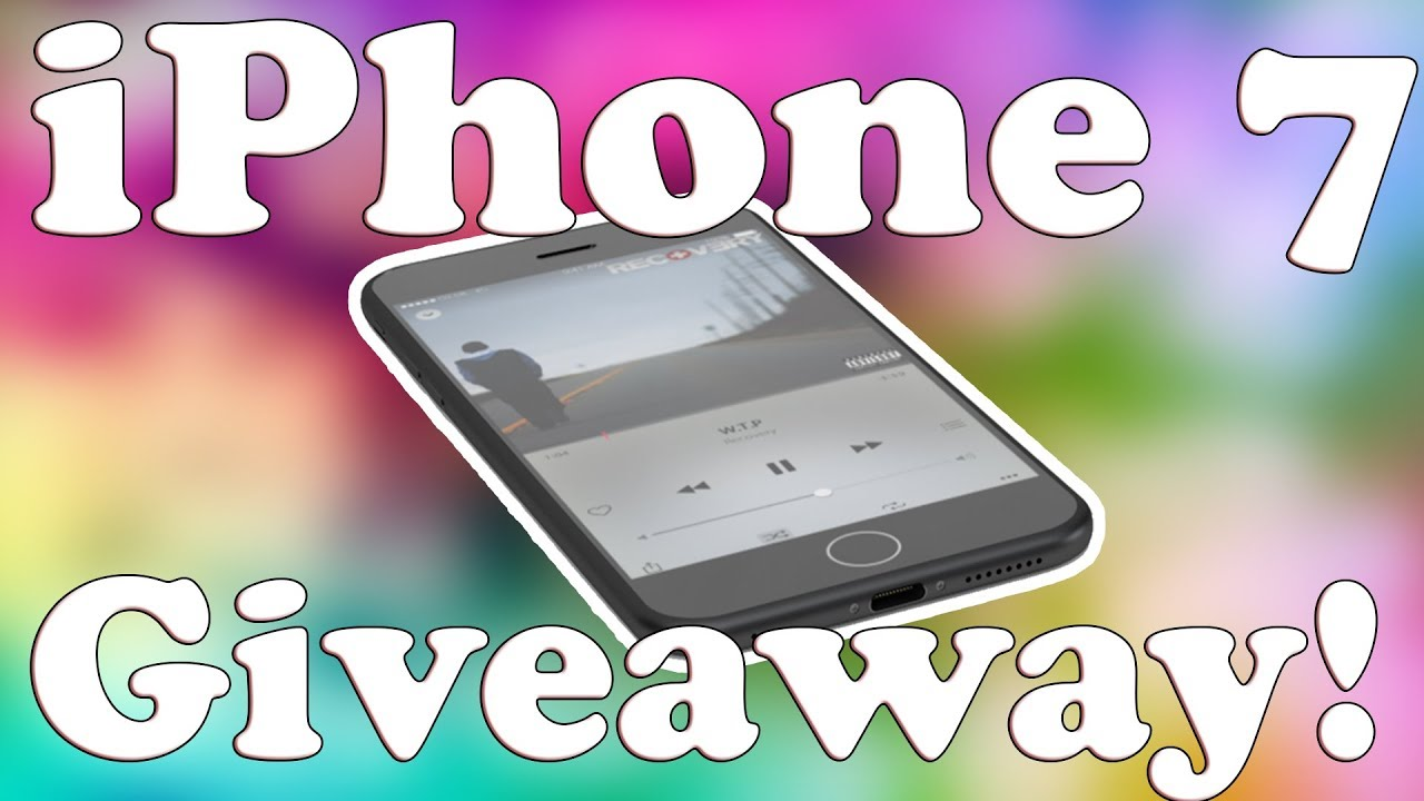 Iphones with friends giveaway