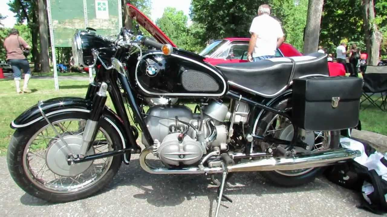 1968 bmw r69s motorcycle exterior and interior - 2012 beaconsfield