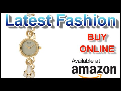 Titan Analog Off White Dial Women's Watch   Luxury Watches Online