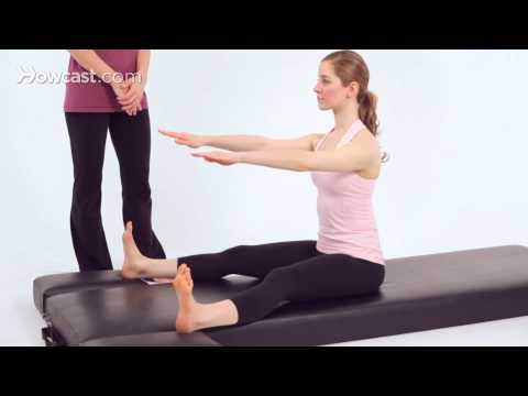 How to Do the Spine Stretch Forward | Pilates Workout