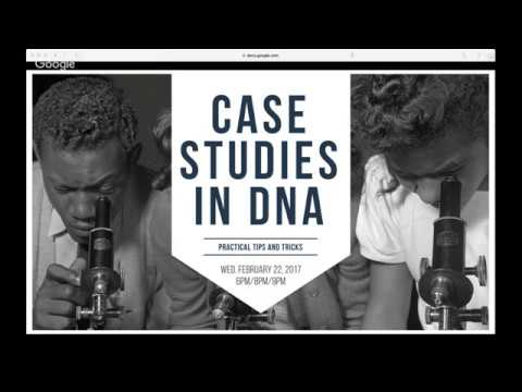 BlackProGen LIVE Ep27: Case Studies in DNA: Practical Tips and Tricks