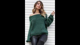 Связать Джемпер Спицами для Женщины - новые модели 2019 / Knit Sweaters For Women New Models