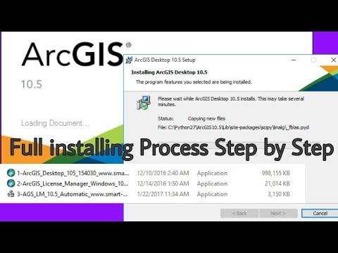 ArcGIS 10.3 - Installation Guide (Cracking) | FunnyDog.TV