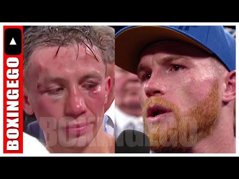 CANELO ALVAREZ TELLS GENNADY GOLOVKIN TO BE A MAN! ACCEPT THE DEFEAT HE GAVE HIM! | BOXINGEGO