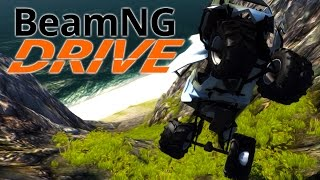 Repeat youtube video BeamNG.Drive #5 | DOWN THE CLIFF WE GO!