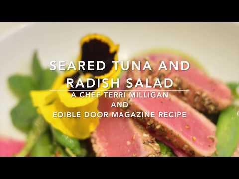 Radish Tuna Salad