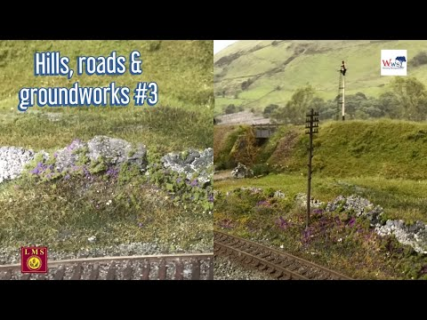 How to make realistic hills and scenery model railways part 3