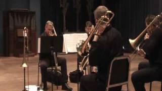 Trombone Quartet - Manhattan Slide Project - Blue Bossa