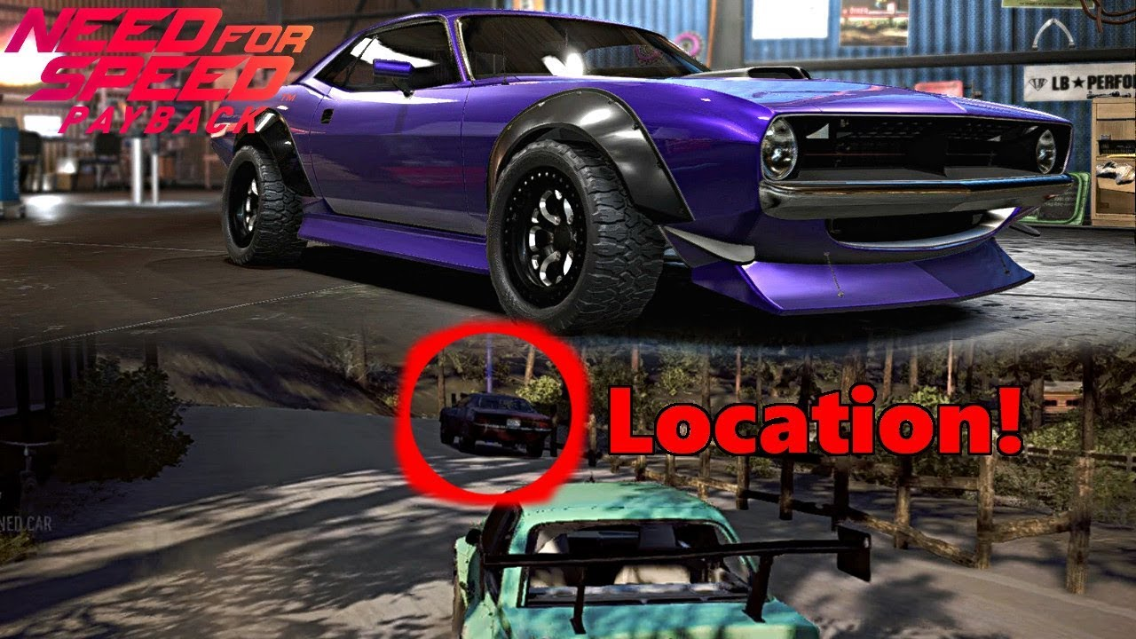 Need For Speed Payback How To Get A New Car