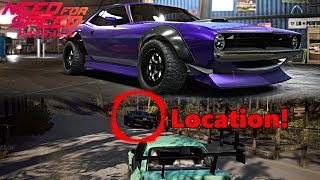 Need For Speed Payback: Plymouth Barracuda, NEW HIDDEN CAR LOCATION! + Customization