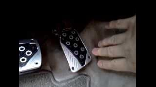 Track pedal pads universal (automatic transmission)