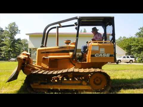 2005 Case 550H WT sn CAL00637 Part 1 Bulldozer by InspectEquipment Com