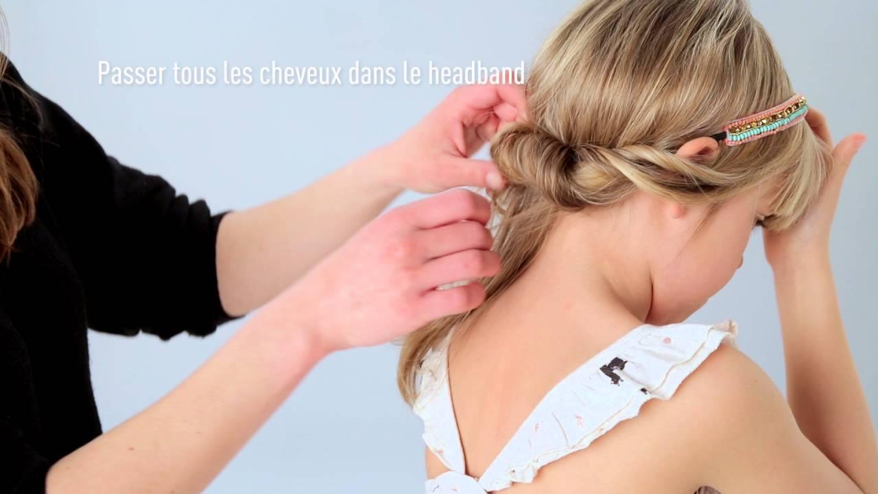 3 Coiffures Faciles à Faire Avec Un Headband Tuto Coiffure By Tape à Loeil