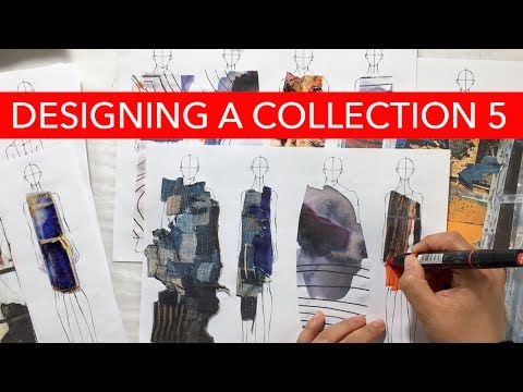 Watch Me Design 5: Collaging On Figures