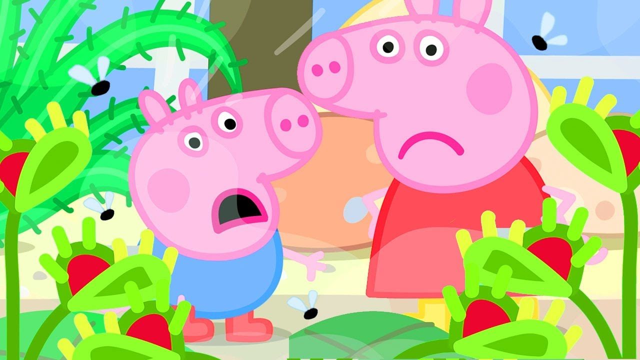 Download Peppa Pig Official Channel   Peppa Pig Play the Venus Fly Trap Game