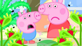 Peppa Pig Official Channel | Peppa Pig Play the Venus Fly Trap Game