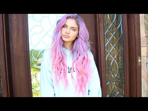Thumbnail: DYING MY HAIR PINK & PURPLE🦄💜💕