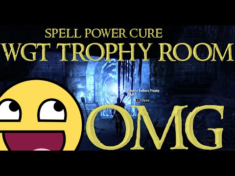 ESO l Ember Trophy Vault for WGT (Spell power cure drop!)