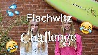Flachwitz Challenge I Finja and Svea