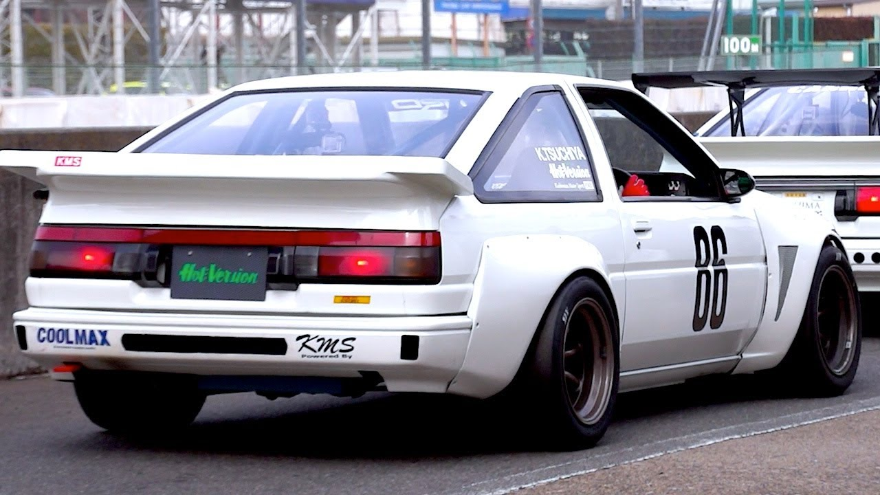 Trd Ae86 Race Car Part 2 Qualify Youtube