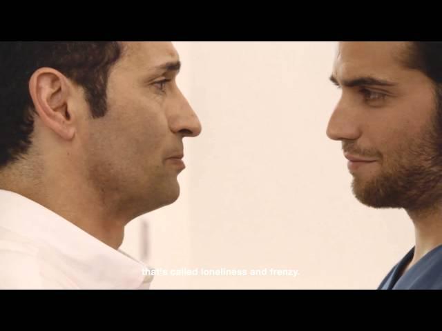 hombres gay mirar boquiabierto