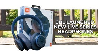 The JBL LIVE500BT Bluetooth Headphones Are One For The Commuters