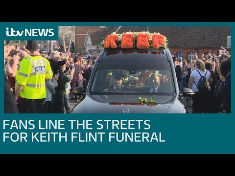 Prodigy fans line the streets for Keith Flint funeral | ITV News
