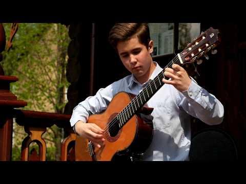 Мауро Джулиани. Вариации на тему испанской фолии. Исполняет Андрей Логинов. Классическая гитара