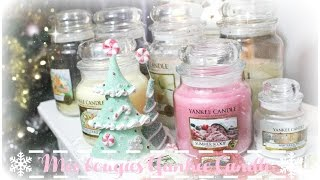 Mes bougies Yankee Candle ♡