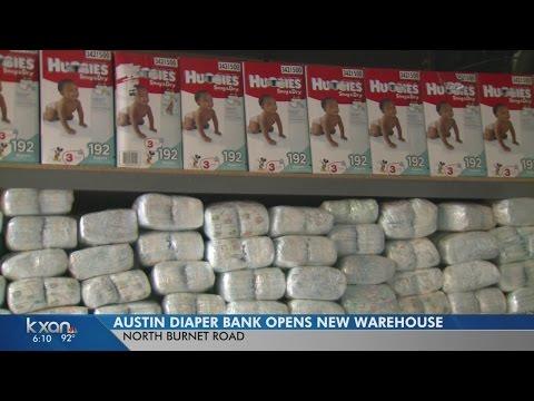 Austin's Diaper Bank expanding to meet growing need