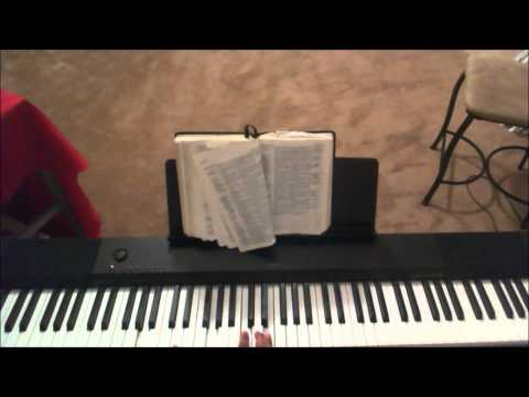 Give thanks with a grateful heart Piano Tutorial F-Major