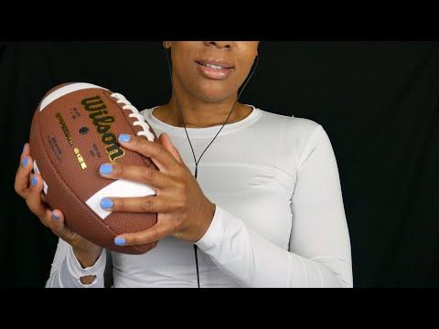 ASMR Sports Equipment/Tapping/Talking