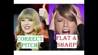 Video Famous Female Singers Singing OFF KEY - Flat & Sharp Notes download MP3, 3GP, MP4, WEBM, AVI, FLV Oktober 2018