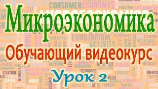 Микроэкономика. Урок 2. Основные элементы рынка. Возникновение и функции рынка