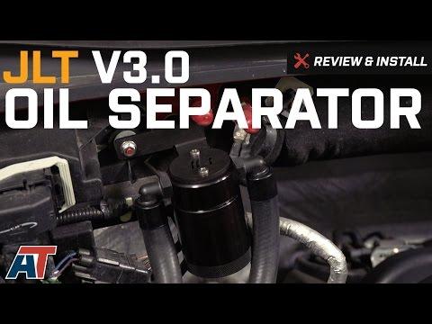 2011-2017 F150 JLT V3.0 Black Oil Separator 2.7L/3.5L EcoBoost, 5.0L, 6.2L Review & Install