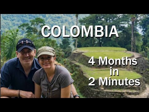 Four months in Colombia in Two Minutes