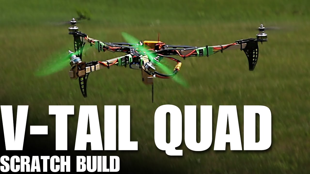 Flite Test - V-Tail Quad - BUILD - YouTube