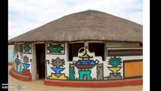 Ndebele Houses