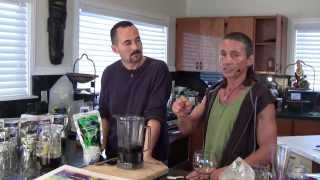 Dr Robert Cassar Illustrates A Breakfast Elixir Tea Smoothie As A Ayurvedic Adaptogenic Herb Tonic