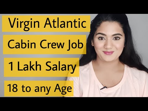 Virgin Atlantic Cabin Crew Job Vacancy For Fresher Boys & Girls   International Airlines Recruitment