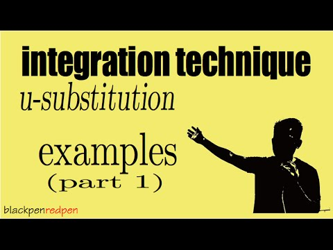 How To Integrate Using U Substitution