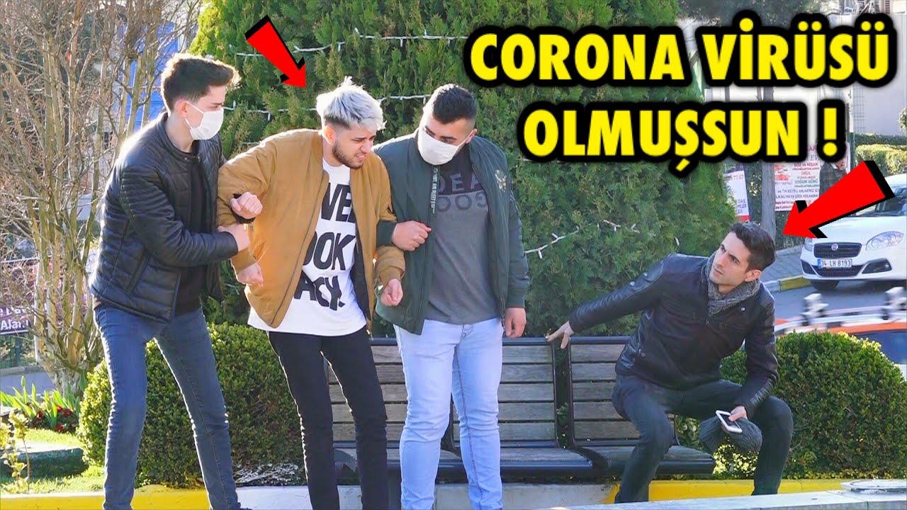 SENDE CORONA VİRÜSÜ VAR ! - SOSYAL DENEY