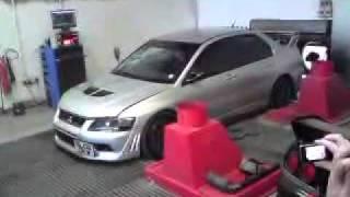 700bhp Evo 7 HUGE BACKFIRE!!!! MASSIVE TURBO LAG! rolling road Mitsubishi not a 5 6 8 9 10 wrx sti