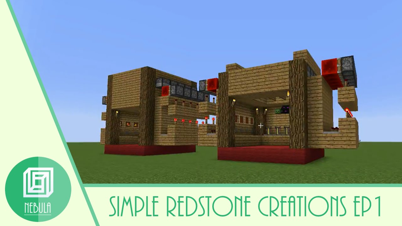 Minecraft simple redstone creations tutorial episode 1 minecraft simple redstone creations tutorial episode 1 automatic brewing station baditri Images