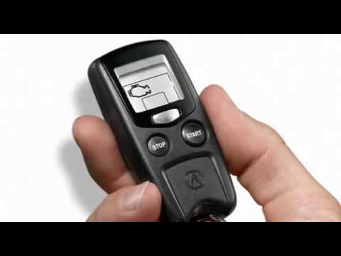 Ed Martin Acura Remote Start System YouTube - Acura mdx remote start