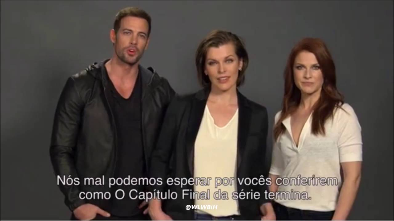 Resident Evil The Final Chapter Cast On Reclaiming: William Levy @willylevy29 Invites Fans Worldwide To See