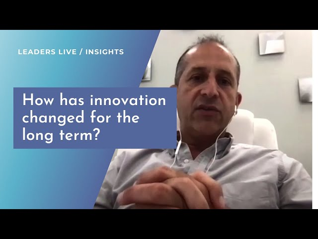 How has innovation changed for the long term? | Leaders LIVE Insights