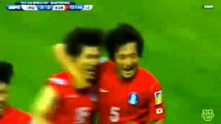 jung hyun chu great goal in iraq u20 vs south korea u20 8 7 2013