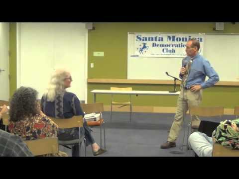 Rick Cole at Santa Monica Democratic Club - 8/26/2015