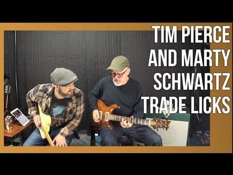 Tim Pierce and Marty Schwartz Trade Licks (LiveStream Outtake)